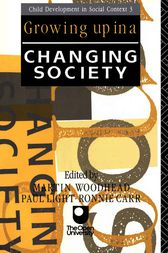 Growing Up in a Changing Society by Ronnie Carr