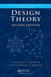 Design Theory, Second Edition by Charles C. Lindner