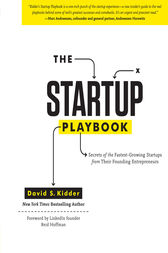 The Startup Playbook by David S. Kidder