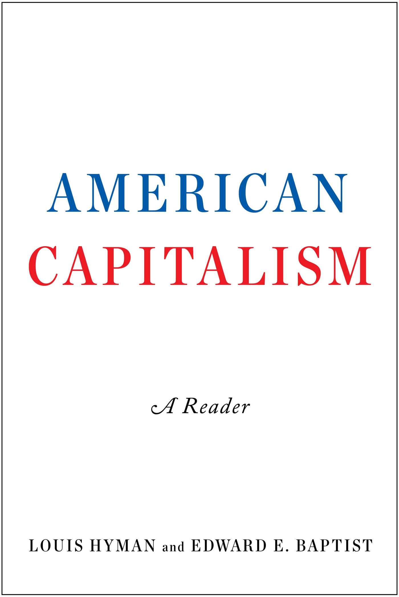 Download Ebook American Capitalism by Louis Hyman Pdf