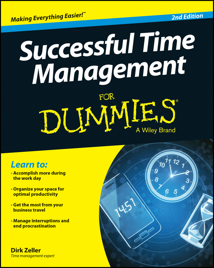 Download Ebook Successful Time Management For Dummies (2nd ed.) by Dirk Zeller Pdf