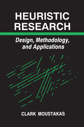 Heuristic Research by Clark Moustakas