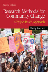 Research Methods for Community Change by Randy R. Stoecker