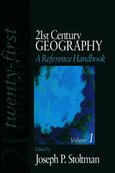 21st Century Geography: A Reference Handbook by Joseph P. Stoltman