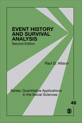 Event History and Survival Analysis: Regression for Longitudinal Event Data