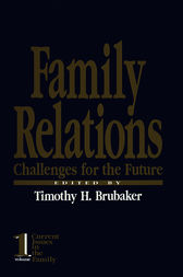 Family Relations by Timothy H. Brubaker