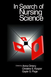 In Search of Nursing Science by Anna Omery