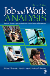 Job and Work Analysis by Michael T. Brannick