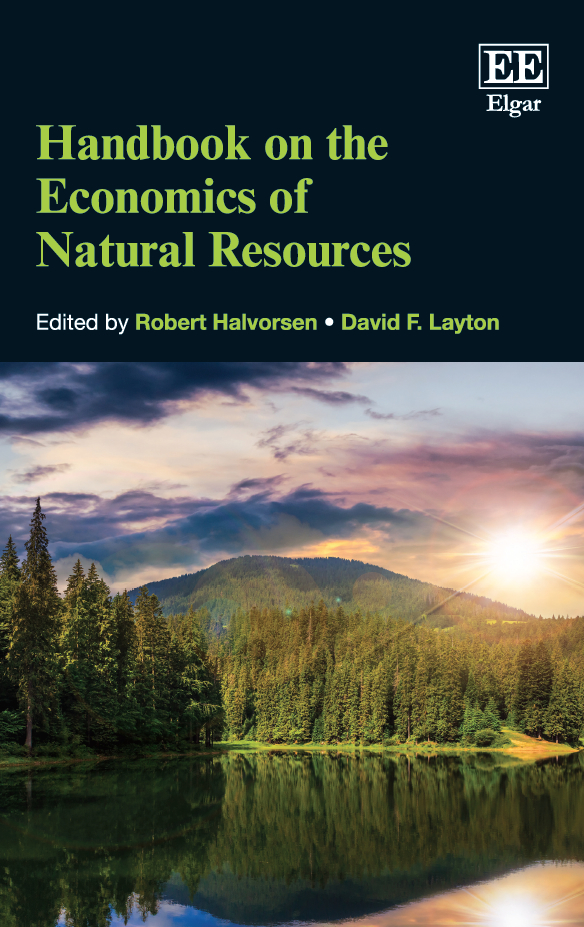 Download Ebook Handbook on the Economics of Natural Resources by R. Halvorsen Pdf