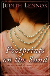 Footprints on the Sand by Judith Lennox