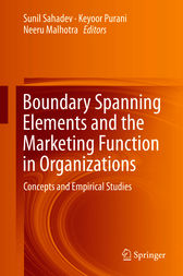 Boundary Spanning Elements and the Marketing Function in Organizations by Sunil Sahadev