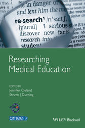Researching Medical Education by Jennifer Cleland