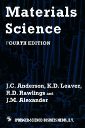 Materials Science by R.D. Rawlings and J.M. Alexander