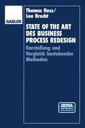 State of the Art des Business Process Redesign by Thomas Hess