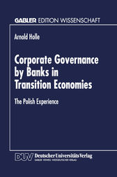 Corporate Governance by Banks in Transition Economies by Arnold Holle
