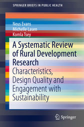 A Systematic Review of Rural Development Research: Characteristics, Design Quality and Engagement with Sustainability