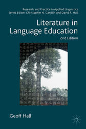 Literature in Language Education by Geoff Hall