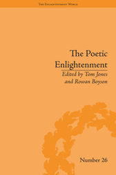 The Poetic Enlightenment: Poetry and Human Science, 1650–1820