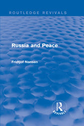 Russia and Peace by Fridtjof Nansen