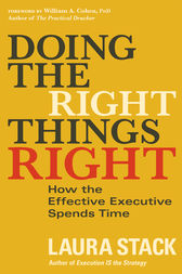 Doing the Right Things Right by Laura Stack