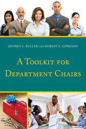 A Toolkit for Department Chairs by Jeffrey L. Buller