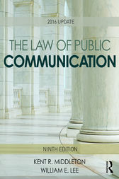 The Law of Public Communication by Kent R. Middleton