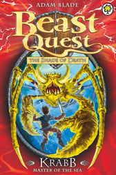 Beast Quest: 25: Krabb Master of the Sea by Adam Blade