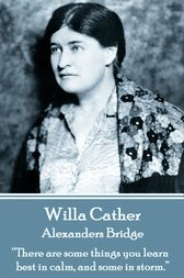 Alexanders Bridge by Willa Cather