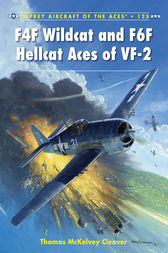 F4F Wildcat and F6F Hellcat Aces of VF-2 by Thomas McKelvey Cleaver