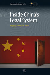 Inside China's Legal System by Chang Wang
