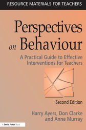 Perspectives on Behaviour by Harry Ayers