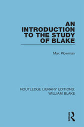 An Introduction to the Study of Blake by Max Plowman