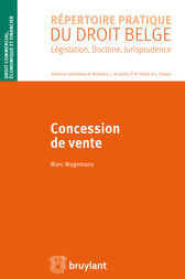 Concession de vente by Marc Wagemans