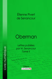 Oberman by Étienne Pivert de Senancour