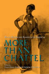 More Than Chattel by David Barry Gaspar
