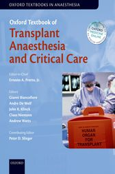 Oxford Textbook of Transplant Anaesthesia and Critical Care by Jr. Pretto
