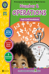 Number & Operations - Task & Drill Sheets Gr. 3-5 by Nat Reed