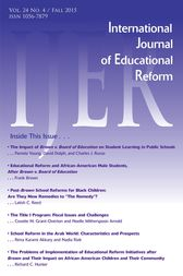 IJER Vol 24-N2 by International Journal of Educational Reform