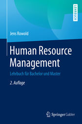 Human Resource Management by Jens Rowold