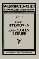 Kupolofenbetrieb by Carl Irresberger