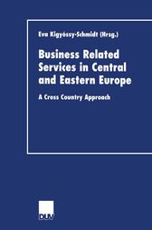 Business Related Services in Central and Eastern Europe by Eva Kigyossy-Schmidt