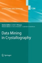 Data Mining in Crystallography by D. W. M. Hofmann