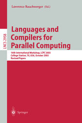 Languages and Compilers for Parallel Computing by Lawrence Rauchwerger