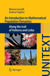 An Introduction to Mathematical Population Dynamics by Mimmo Iannelli