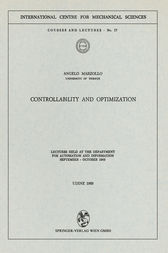 Controllability and Optimization by Angelo Marzollo