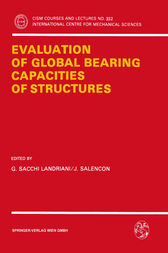 Evaluation of Global Bearing Capacities of Structures by G. Sacchi Landriani