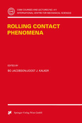 Rolling Contact Phenomena by Bo Jacobson