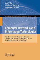 Computer Networks and Information Technologies by Vinu V Das
