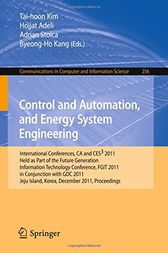 Control and Automation, and Energy System Engineering by Tai-hoon Kim