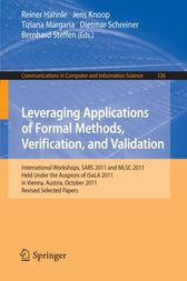 Leveraging Applications of Formal Methods, Verification, and Validation by Reiner Hähnle